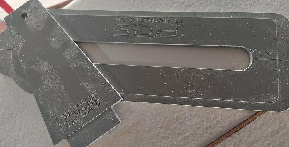 FCS LONGBOARD BOX ROUTER JIG PLATE & DUMMY FIN