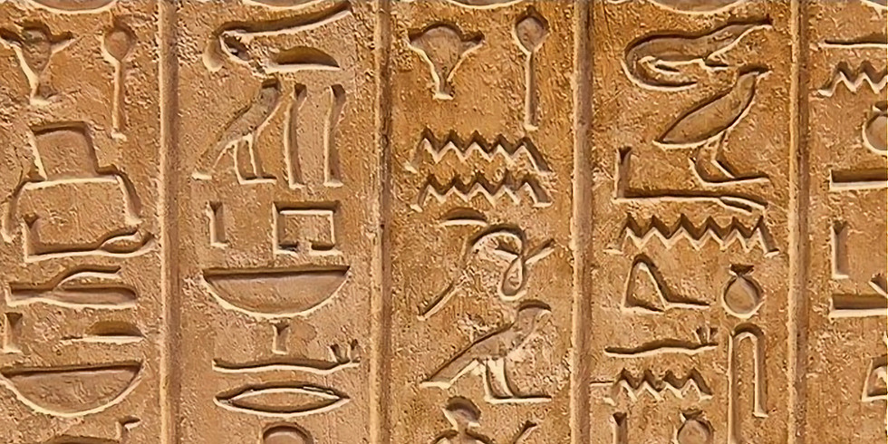 Members Only - Symbology in old Egypt @Home with Colleen Darnell