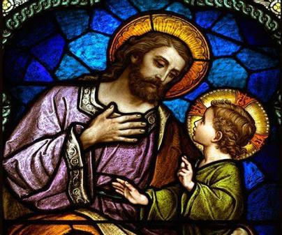 Saint Joseph – Patron of the Universal Church.  Feast Day 19th March