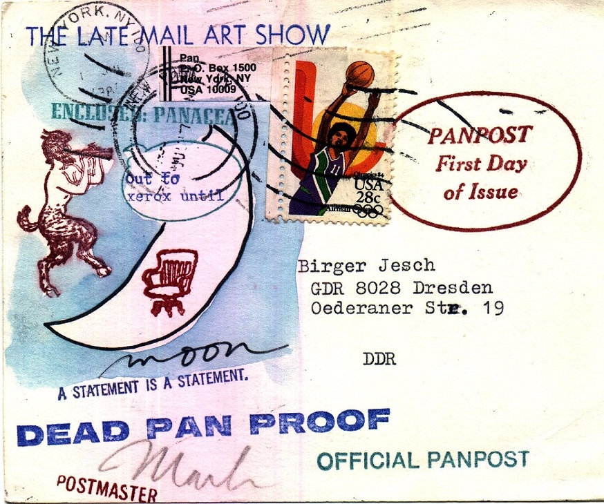 Mark Bloch.Mail Art