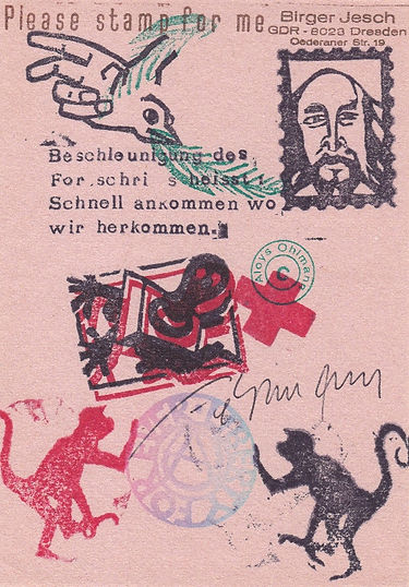 aloys ohlmann- mail art