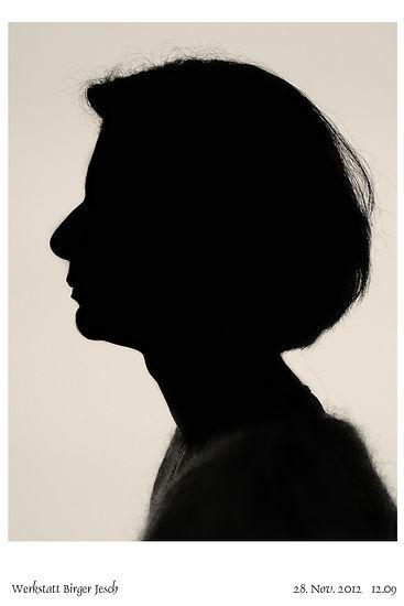 Sabine Sauermilch silhouettenporträt