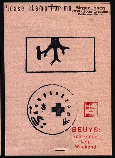 Stempel Joseph Beuys