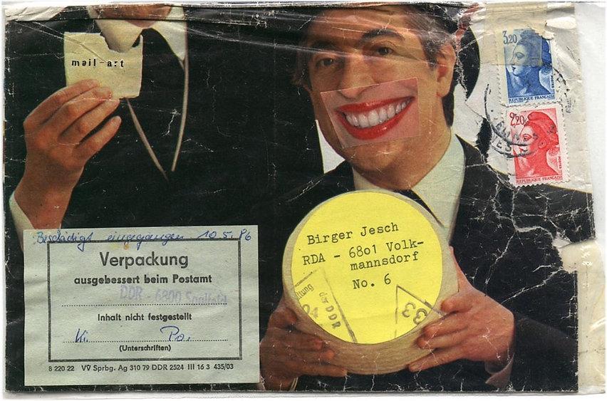 Gudrun Albasser Mail Art