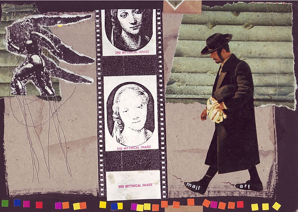 Collective Collages, Mail Art DDR, Birger Jesch