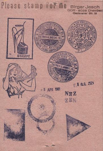 albrecht d. - mail art
