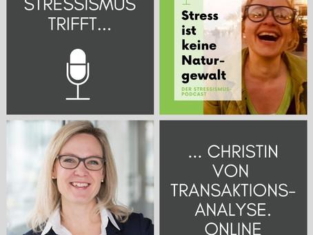 #41 Interview über Antreiber, Transaktionsanalyse & Stress