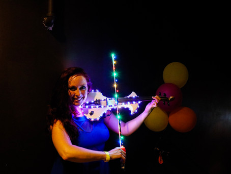 New LED Electric Violin Demo!