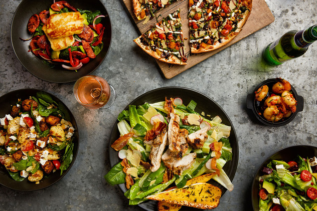 Pizzas and Salads