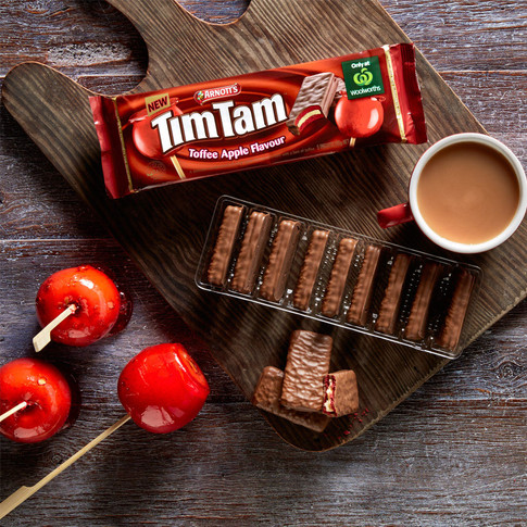 Toffee Apple Tim Tams