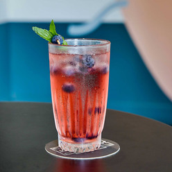 Blueberry Blush Cocktail
