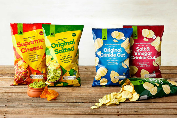 Woolworth's Potato and Corn Chips