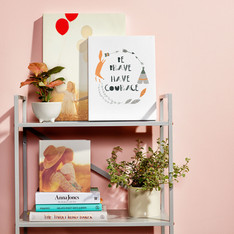 Pink themed canvas prints