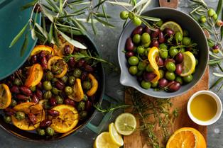 Warm Citrus Olives