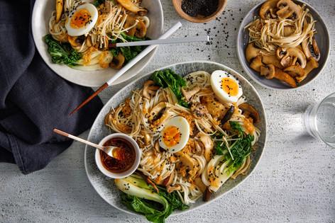 Asian Mushroom Noodles