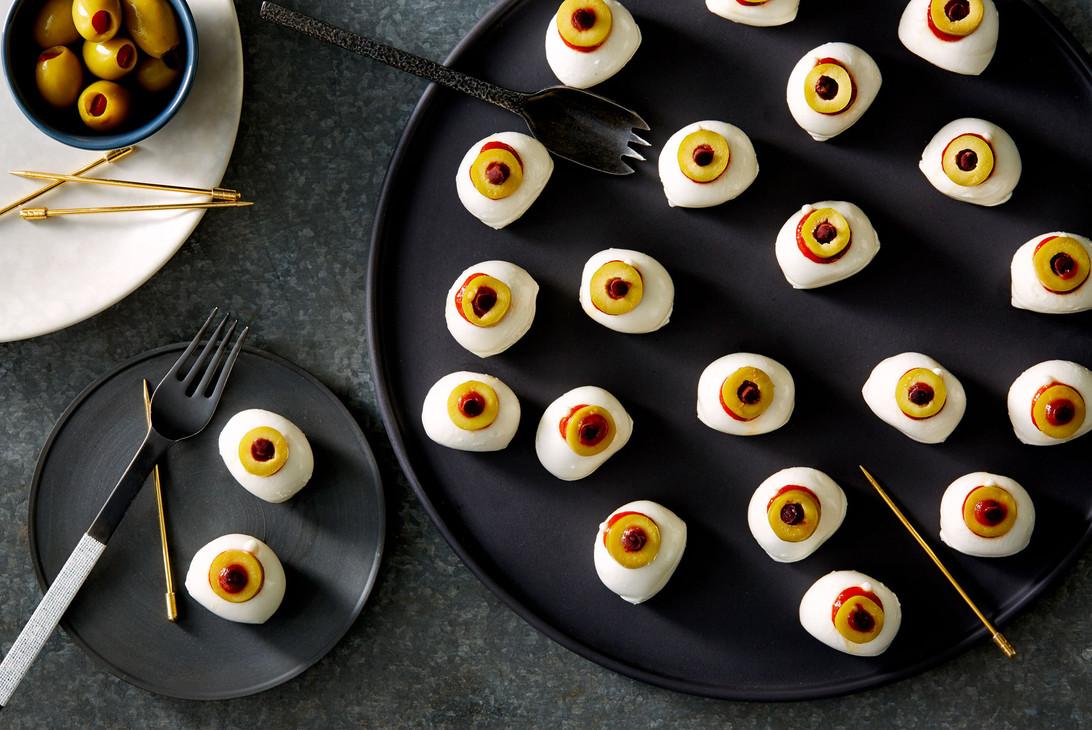 Bocconcini Eyeballs