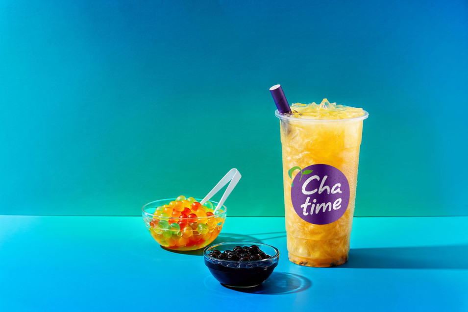 Fruit Chatime tea with pearls