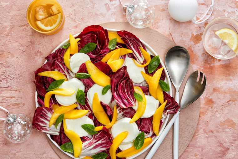 Mango Mozzarella Salad
