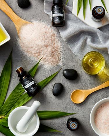 Essential Oils Salt Scrub