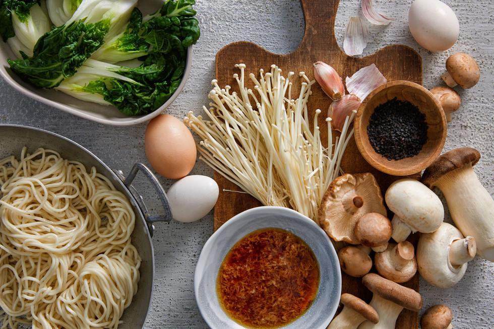 Asian Noodle Ingredients
