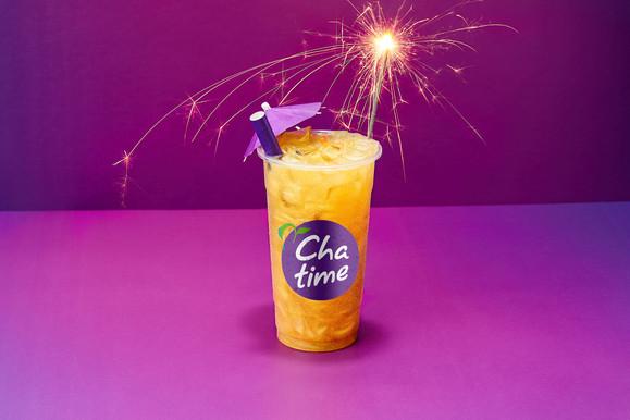 Sparkler Chatime tea