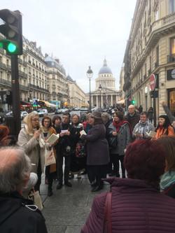 Flash-mob haïku Paris 5è
