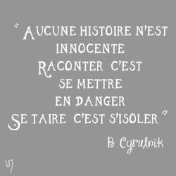 Citation de Boris Cyrulnik