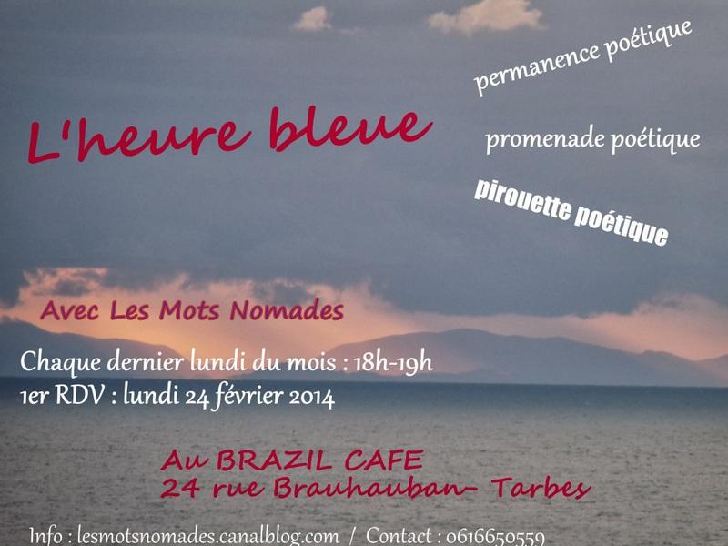 Premier flyer deL'heure bleue