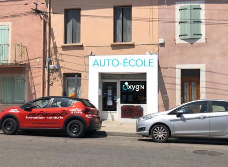 Meilleure AUTO ECOLE SORGUES | OXYG'N CONDUITE | 84