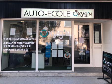 Meilleure AUTO ECOLE PERNES | OXYG'N CONDUITE | 84
