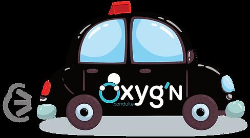 Voiture Oxyg'N Conduite Auto-école
