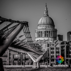 #PicOfTheWeek - St Paul's & The Millennium Bridge