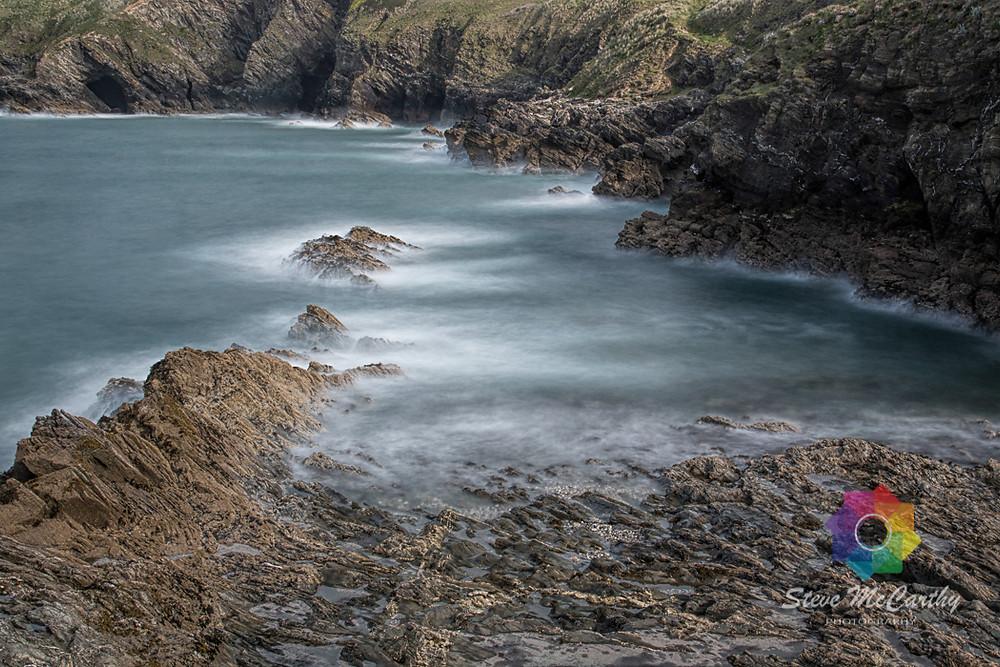 Coastal Rocks from the Headland at Fistral