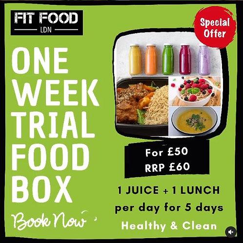1 Week Trial Food Box