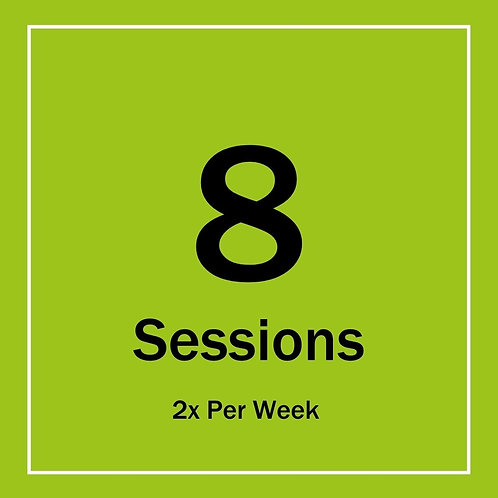 8x Personal Training Sessions