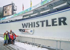 Whistler Bobsledding