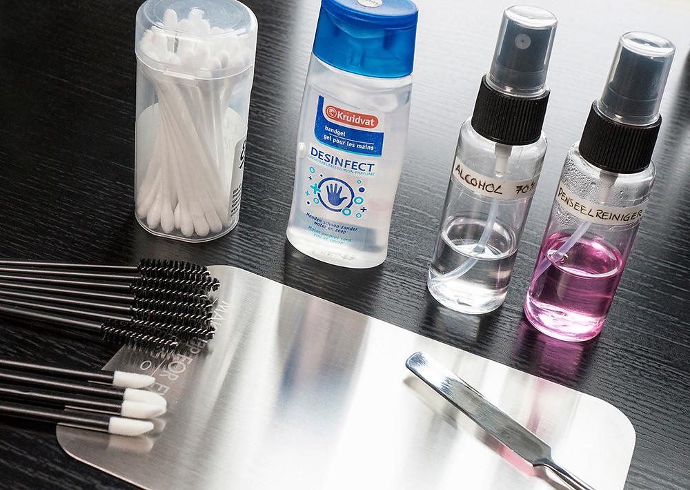 Make-up hygiene