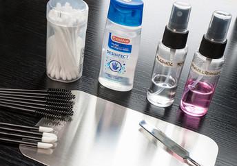Makeup sanitation