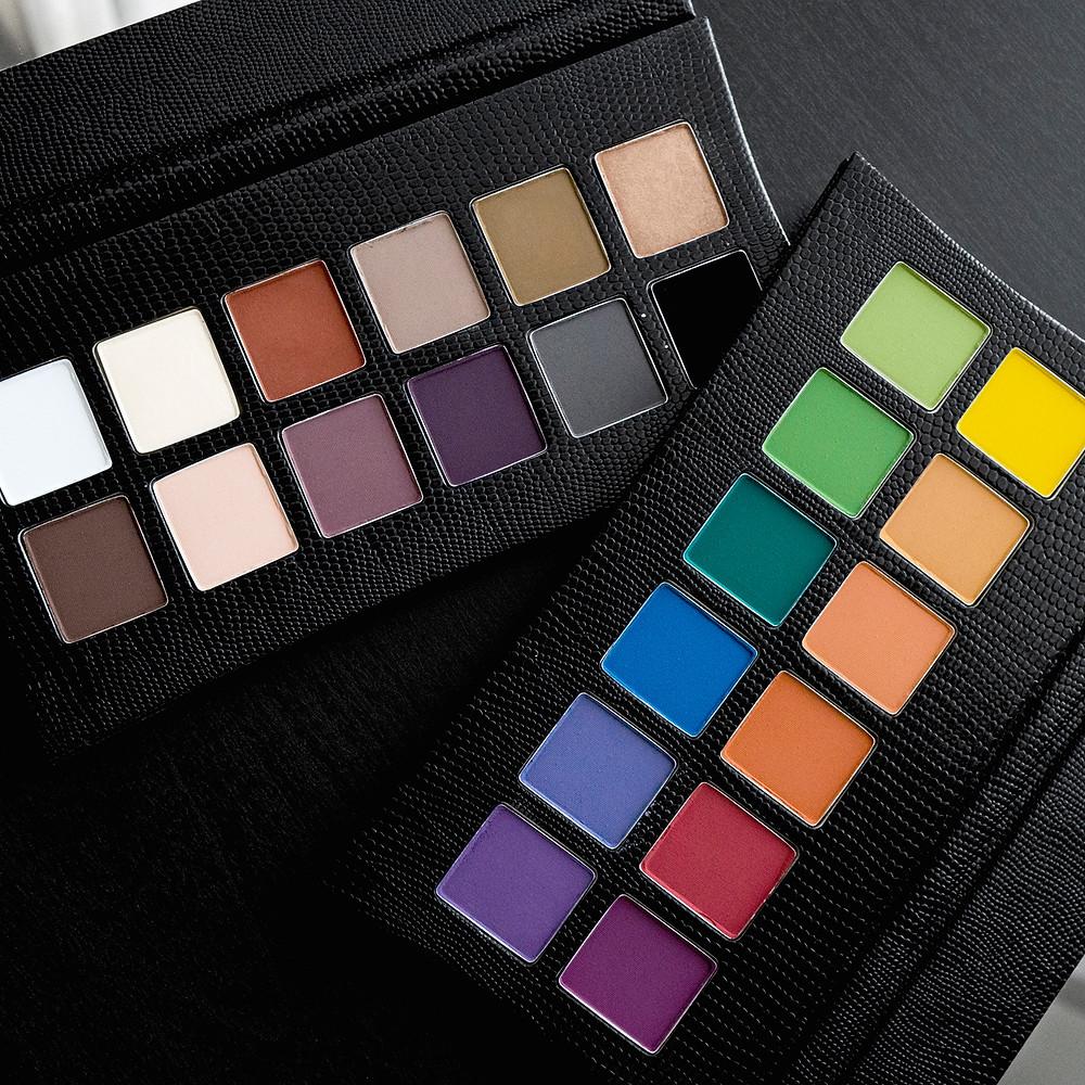 Illamasqua The Reign of Rock eyeshadow palettes
