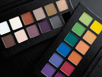 Illamasqua The Reign of Rock Elemental and Experimental palettes review