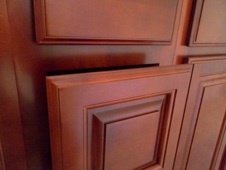 Custom Hardwood Cabinets