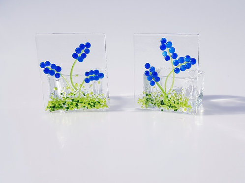 Grape Hyacinth Tealight