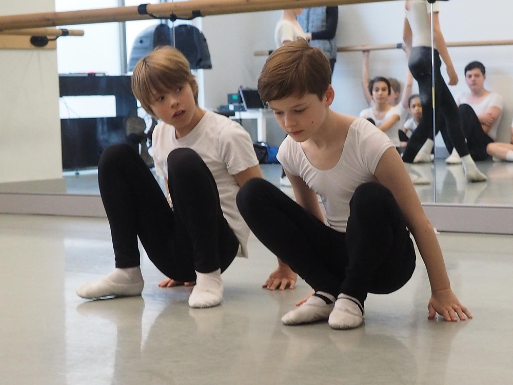 friends day at boys ballet