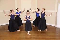 Contemporary dance instruction