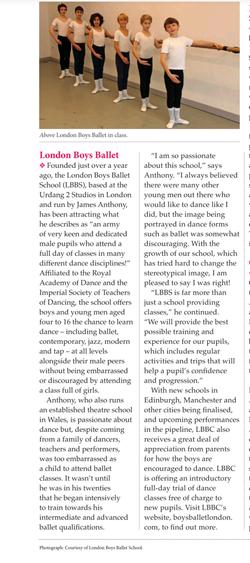 dance times magazine