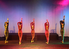 Modern dance instruction