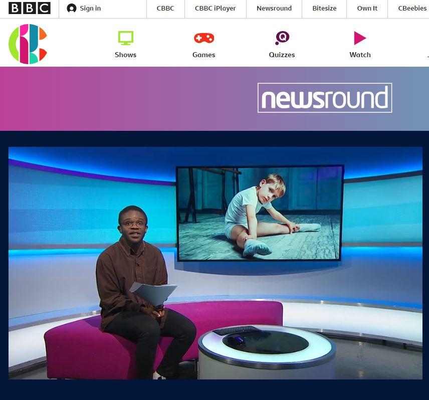 boys ballet bbc newcround CBBC