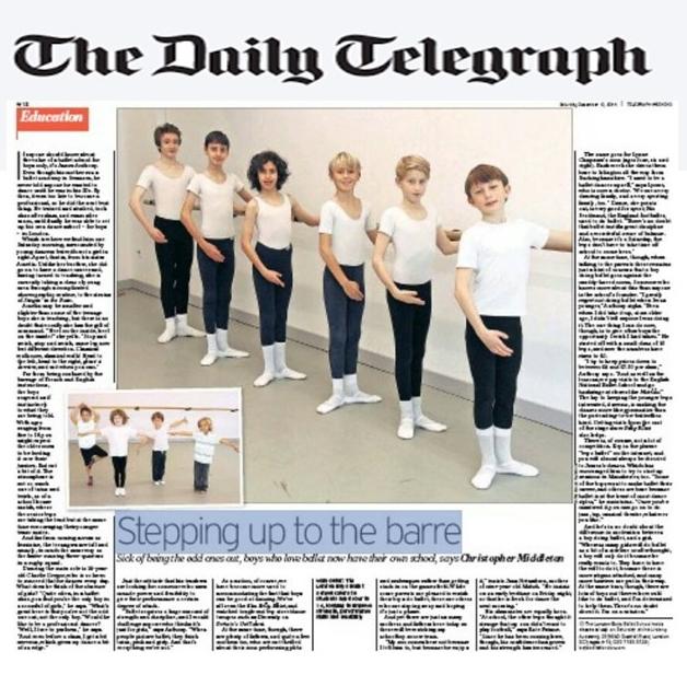 Daily Telegraph CTA