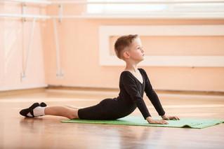Junior Boys Yoga!