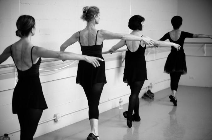 ballet barre class in swansea